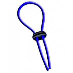 Flexi-Cockring (Hog Tie) Blue (T3812)