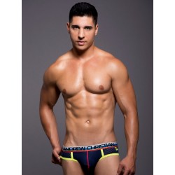 Andrew Christian Air Jock w/Show-It Underwear Navy