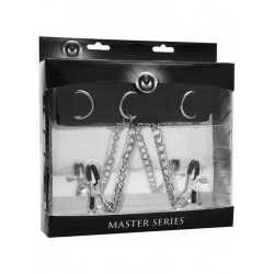 Master Series Submission Collar and Nipple Clamp Union