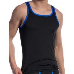 Olaf Benz Carreshirt T-Shirt RED1604 Black/Blue (T4725)