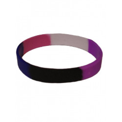 Gender Fluid Bracelet Silicone (T4741)
