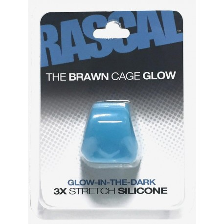 The Brawn Cage Glow Blue (Rascal Toys) (T4962)