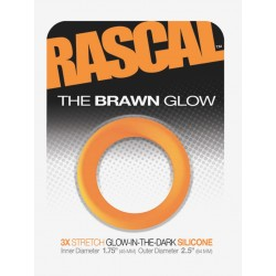 The Brawn Glow Cockring Orange (Rascal Toys) (T4960)