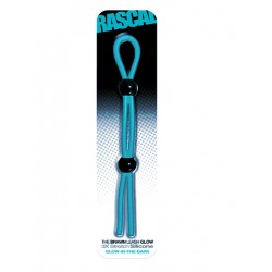 The Brawn Cock Leash Glow Blue (Rascal Toys)