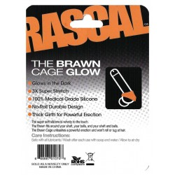 The Brawn Cage Glow Orange (Rascal Toys) (T4963)