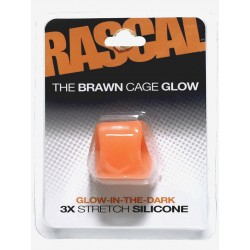 The Brawn Cage Glow Orange (Rascal Toys)