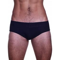 Rounderbum Jock Brief Underwear Black (T5063)