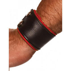 Colt Leather Wrist Strap - Red (T0105)