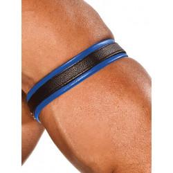 Colt Leather Bicep Strap - Blue (T0100)