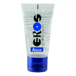 Eros Megasol  Aqua 50 ml / 1.7 fl.oz. Tube Water-based Lubricant (ER33050)