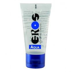 Eros Megasol  Aqua 50 ml / 1.7 fl.oz. Tube Water-based Lubricant (ER33050)