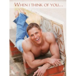 Love When I think of you... Greeting Card (M8043)