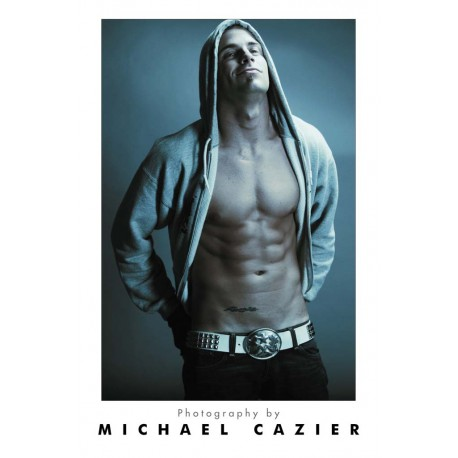 Michael Cazier- Exposed Male Poster (M8513)