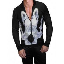 Danny Miami Dark Frenchie Tracksuit Multi (T5051)
